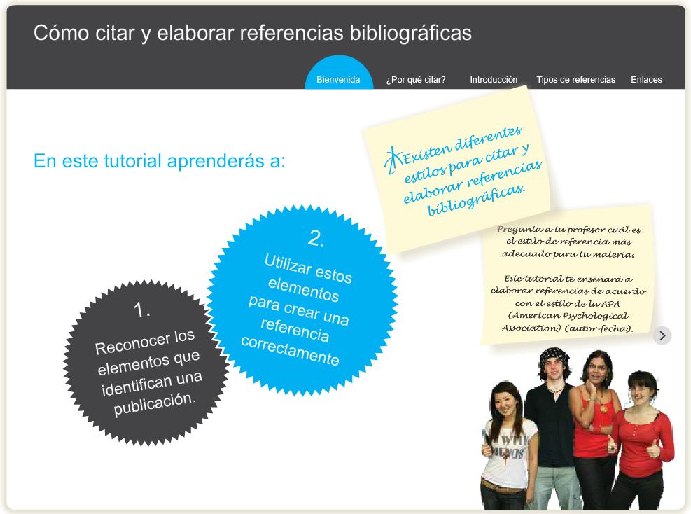 Como citar y elaborar referencias bibliográficas